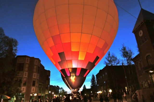 Telluride Balloon Festival - Night