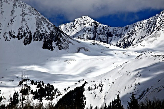 Snowy mountain - Telluride