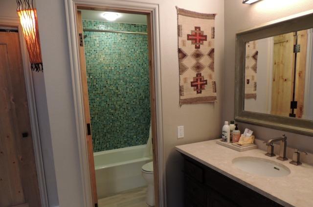 Bathroom above