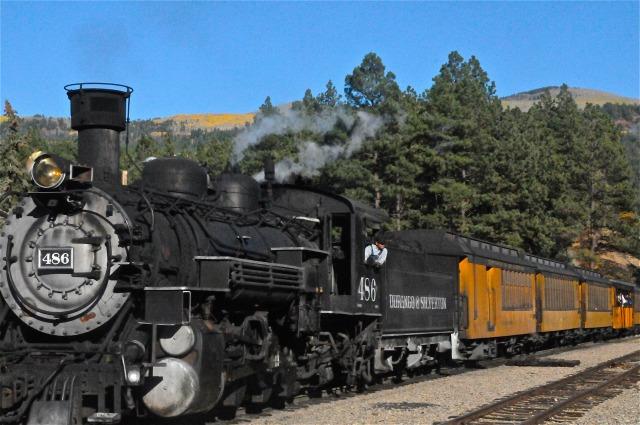 Durango steam train