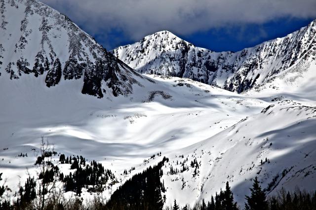 Snowy mountain - Telluride