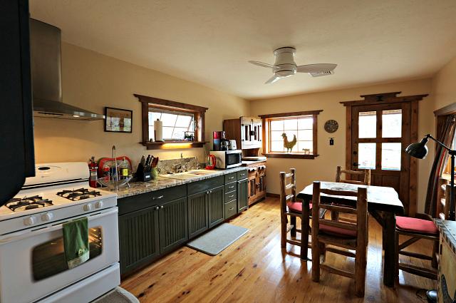 Stone House - Kitchen