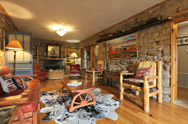 Stone House - Living Room (side)