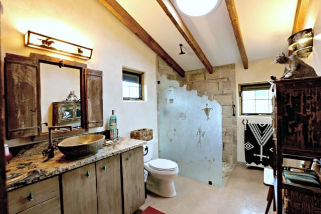 Wagstaff Cabin - bathroom