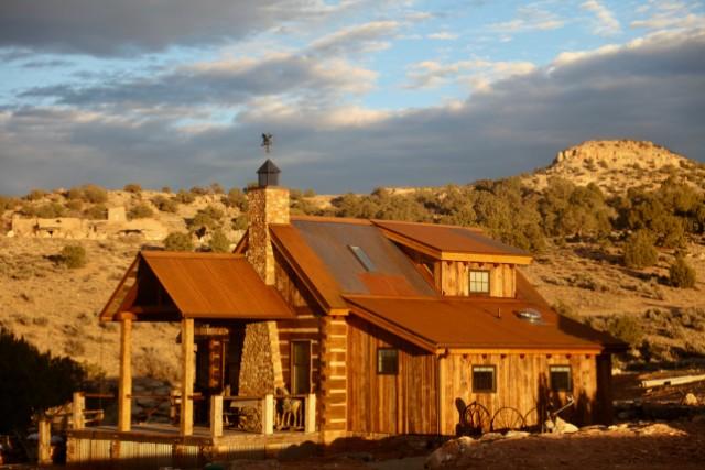Wagstaff Cabin - sunset