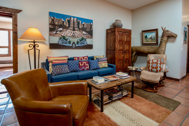 Living Room - Ranch House